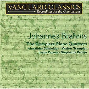 J. Brahms - Brahms: The komplet klaver kvartetter [CD] USA import