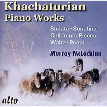 A. Khachaturian - Khachaturian: Piano Works [CD] USA import