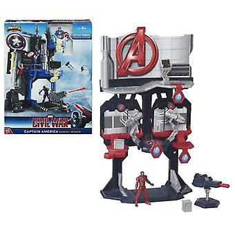 Hasbro Playset Civil War Con Figura 6 Cm (Toys , Action Figures , Stages)