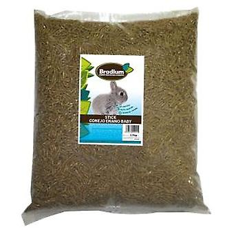 Bradium Bradium Dwarf Rabbit 15Kg Bulk Sticks Baby (Small pets , Dry Food and Mixtures)
