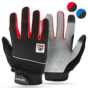 Proworks Cycling Gloves Red - Large