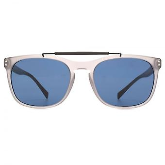 Burberry Brow Bar Square Sunglasses In Matte Grey