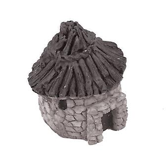 DIGIFLEX Aquarium Fish Tank Quaint Thatched Cottage Ornament