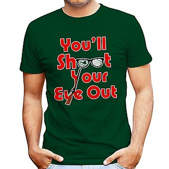 You'll Shoot Your Eye Out Christmas Story Men's T-Shirt