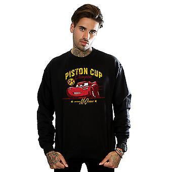 Disney Herren Autos Kolben Cup Champion Sweatshirt