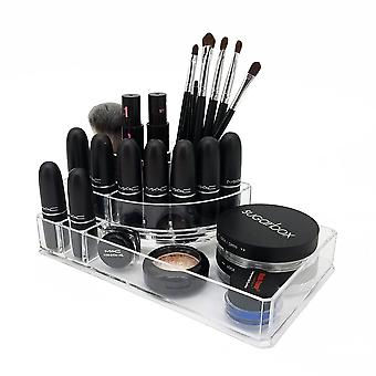 OnDisplay Michelle Deluxe Acrylic Cosmetic/Jewelry Organization Tray
