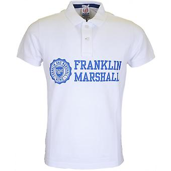 Franklin & Marshall Va110 Regular Fit Polo blanco