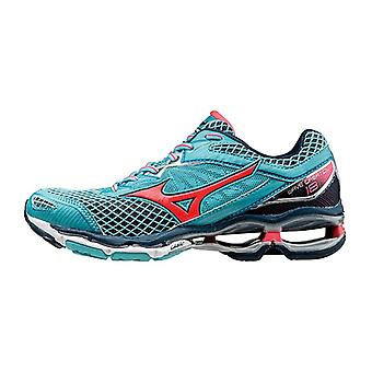 Mizuno AW16 Womens Wave Creation 18 Running Shoes - Neutral - UK 5 - Turquoise