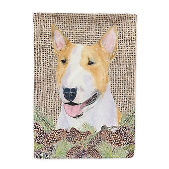 Carolines Treasures  SS4086-FLAG-PARENT Bull Terrier Flag