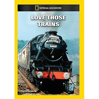 Love Those Trains [DVD] USA import