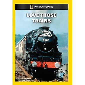 Miłość tych pociągów [DVD] USA import