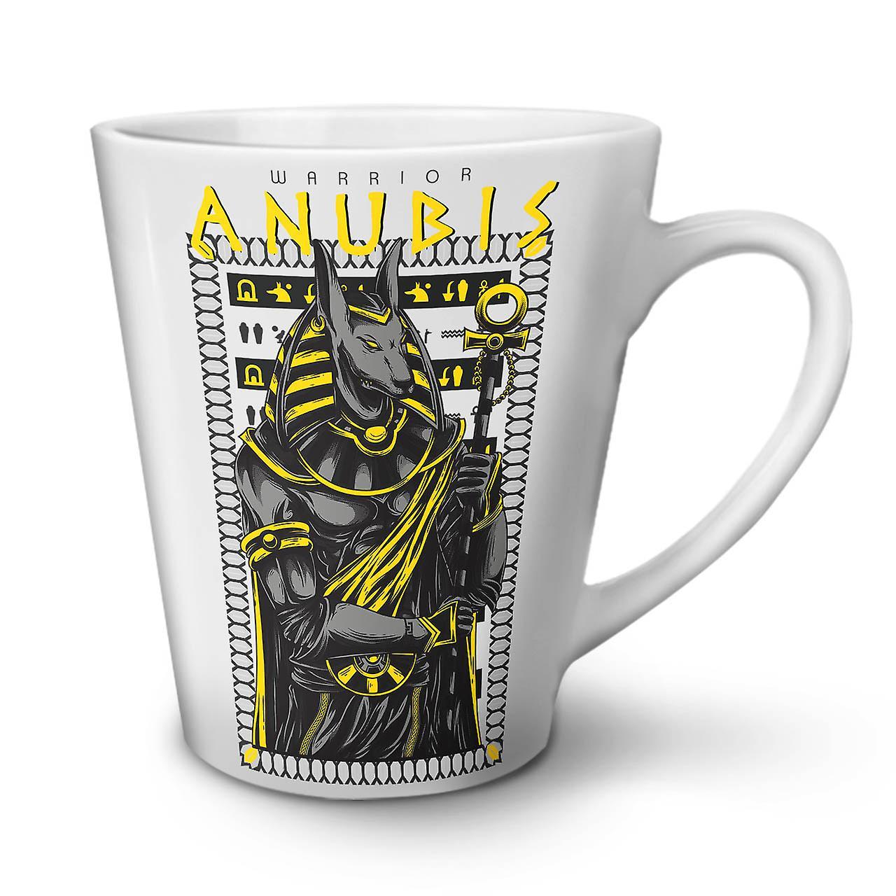 Céramique Ancien Nouvelle OzWellcoda Mode Très Tasse Blanche Anubis Dieu 12 Café En Latte zUGSMpLVjq