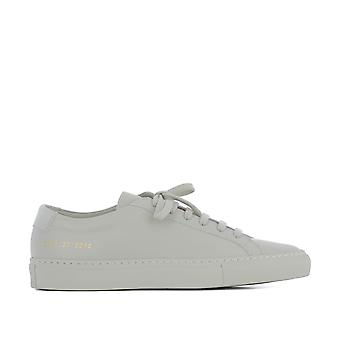 Common projects ladies 37013012 beige / grey leather of sneakers