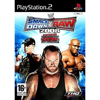 WWE Smackdown vs Raw 2008 (PS2)