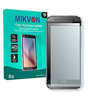 HTC One M8s Screen Protector - Mikvon Clear (Retail Package with accessories)