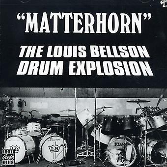 Bellson, Louie Drum Explosion - Matterhorn [CD] USA import