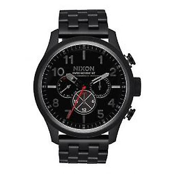 Nixon The Safari Dual Time All Black (A1081-001)