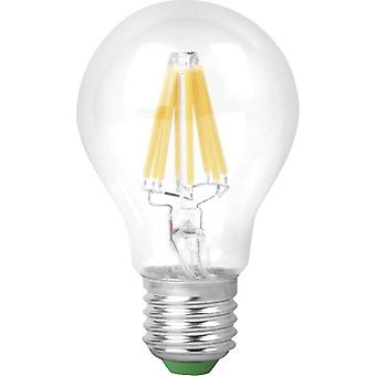 LED E27 Arbitrary 9 W = 60 W Warm white (Ø x L) 60 mm x 102 mm EEC: A+ Megaman dimmable, Filament 1 pc(s)