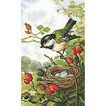 On A Briar Branch Counted Cross Stitch Kit-6.25