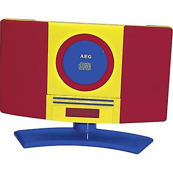 Kids CD player AEG MC 4464 Kids Line AUX, CD, FM Wall mount brac