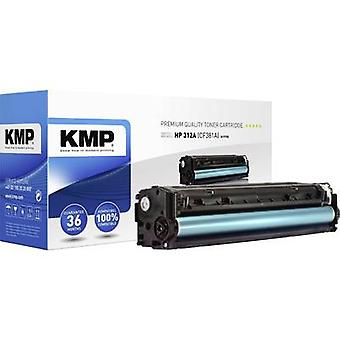 KMP Toner cartridge replaced HP 312A, CF381A Compatible Cyan