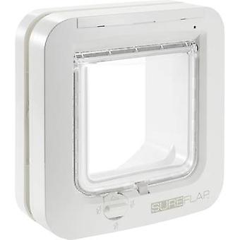 Pet door flap SureFlap Mikrochip Cat door White 1