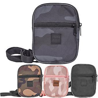 Urban classics - FESTIVAL small bag shoulder bag dark camo
