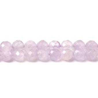 Strand 45+ Lilac Cape Amethyst 7-8mm Faceted Round Beads CB45646-2