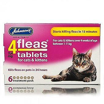 Johnsons 4 compresse per gatti & gattini, 6 compresse