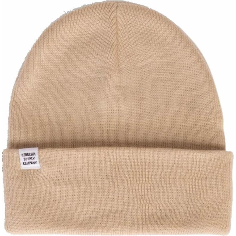 Herschel Frankfurt Beanie Flat Knit with Fit Versatility Double-Sided