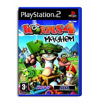 Worms 4 Mayhem (PS2)