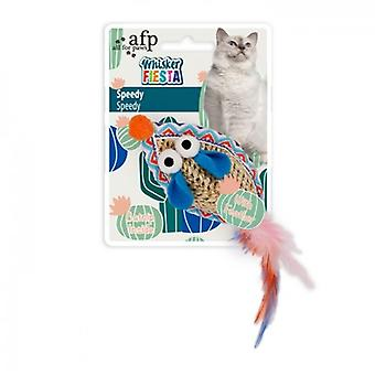 AFP Ratón Speedy Whisker Fiesta (Cats , Toys , Mice)