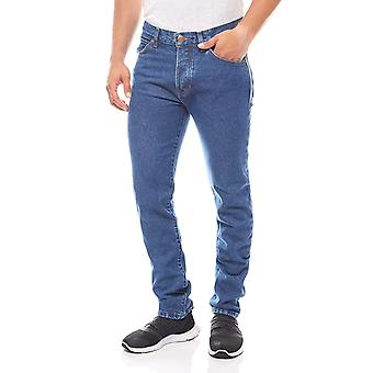 Wrangler boy tone men's regular blue denim