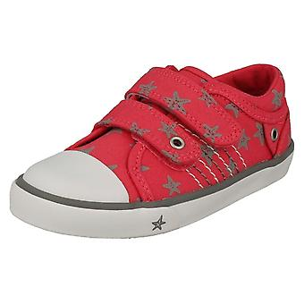 Childrens Boys/Girls Startrite Casual Shoes Zip - Pink Canvas - UK Size 11F - EU Size 29 - US Size 12