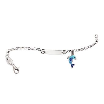 Scout child ID Bracelet engraved kids bracelet Dolphin girl 260197100