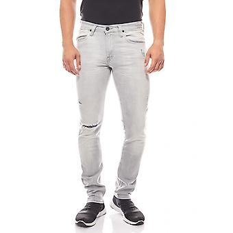 Tapered Jeans in used look men's Lee Grau