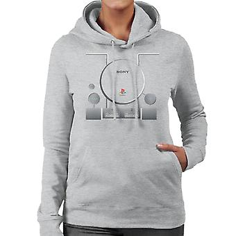 Sony PlayStation Gaming Console vrouwen Hooded Sweatshirt