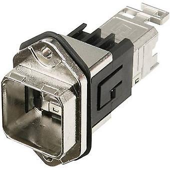 Brida de RJ45 set socket de RJ45 versión 14, Monte número de pernos: 8P8C J80020A0011 Metal Telegärtner J80020A0011 1 PC