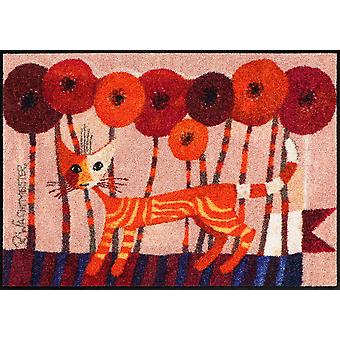 Rosina Wachtmeister doormat Carotino Salon Lion of washable mats