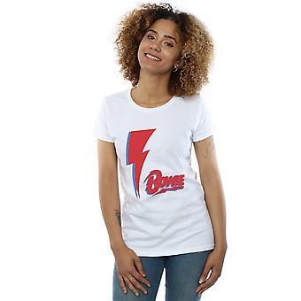 David Bowie Women's Red Bolt T-Shirt