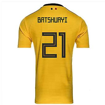 2018-2019 Belgium Away Adidas Football Shirt (Batshuayi 21)