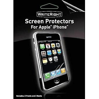 Body Glove WriteRight Screen Protectors for Apple iPhone 3G/3GS