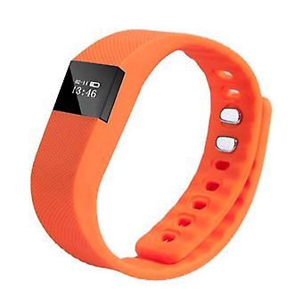 Spullen Certified® originele TW64 Smart Band sport horloge Smart Watch OLED Smartphone iOS Android oranje