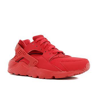 Huarache Run (Gs) 'Triple Red' - 654275-600 - Shoes