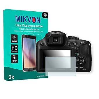 Panasonic Lumix DMC-FZ70 Screen Protector - Mikvon Clear (Retail Package with accessories)