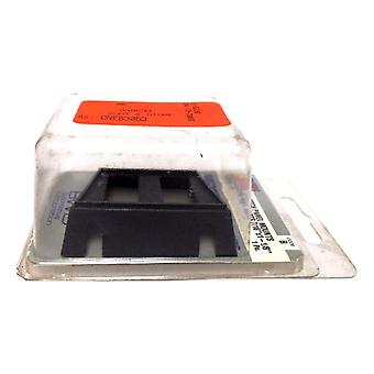 Federated 83053-3 Switch Panel Mounts Two Rect. Slots 7/16