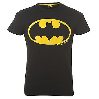 Batman Mens T-Shirt Top Tee Crew Neck Short Sleeve