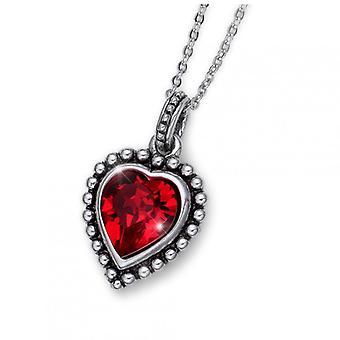 Oliver Weber Pendant Antique Heart Crystal