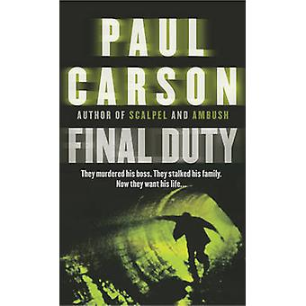 Ostateczne cła przez Paul Carson - 9780099415190 książki