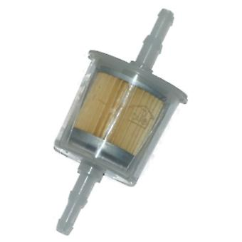 Universal In Line, Inline Fuel Filter Suitable For 6mm 1/4